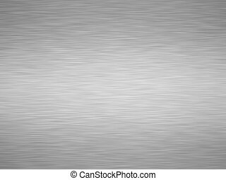 brushed iron - sheet of rendered brushed grey iron or metal