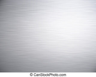 brushed metal - a large sheet of rendered brushed steel or...