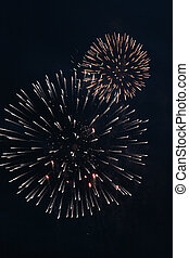 festival firework - much flashes to form miscellaneous and...