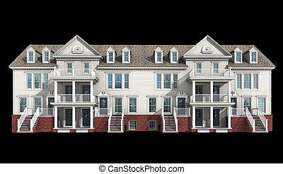 3d model of condominium