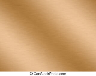 rendered copper - a large sheet of rendered polished and...
