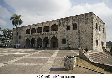plaza de la hispanidad santo domingo dominican republic -...