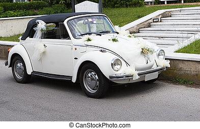 bil, bröllop