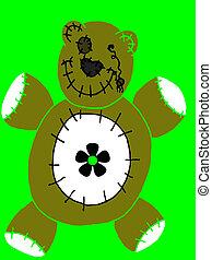 Deaddy Bear - halloween bear