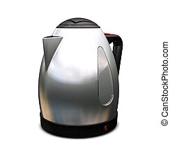 Kettle - 3D render of a contemporary kettle