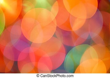 Abstract Background - Background - lights out of focus