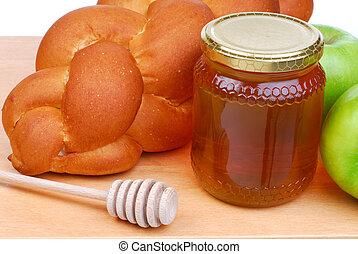 miel,  bread