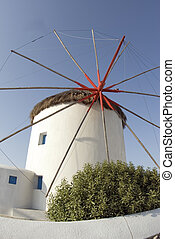 windmill greek islands