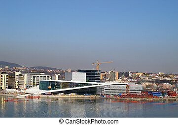 Oslo - The new opera house in Oslo