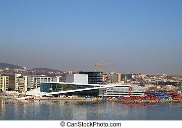 Oslo - The new opera house in Oslo