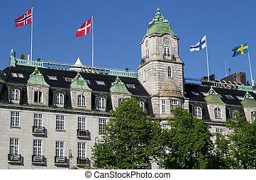 Oslo - Grand hotel in Oslo