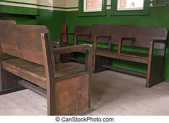 Old Station Waiting Room - Old Waiting Room at Ropley Train...