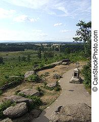 Gettysburg Battlefield - Historic Gettysburg Battlefield in...