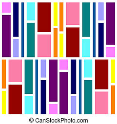 Color Swatch Tile - Complimenting color swatches in a...