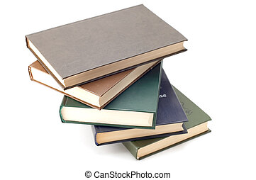 Book - series object on white - book