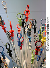 Colorful Dip Sticks - Different new colorful Oil checking...