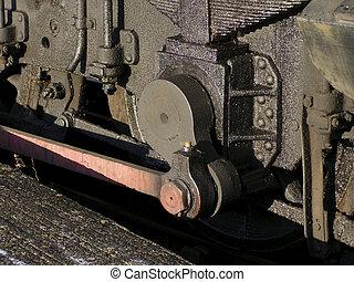 locomotora, unidad