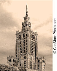 Palace in Warsaw - A gift from Stalin - Palace of Science...