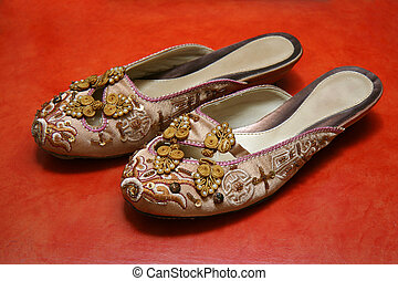 Exquisite Ladies Shoes - A pair of oriental ladies shoes...