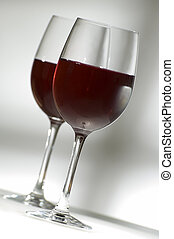 wine - red wine in glass close up shoot
