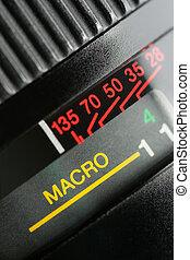 Lens - Close up of camera lens