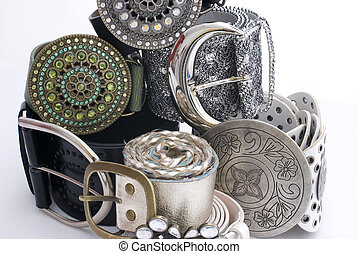 Womens belts - Photo studio capture