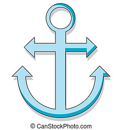Anchor - Cartoon style anchor