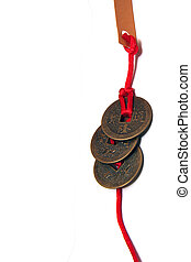 Ancient Chinese Coins - Exquisite gift cum lucky charm made...