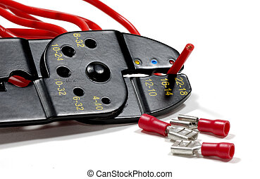 Wire Stripper - Photo of a Wire Stripper and Electrical...