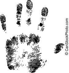 Handprint - Full Vector Handprint