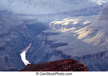 Grand Canyon from Hopi Point - Grand Canyon view from Hopi...
