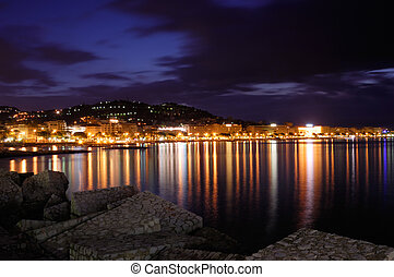 City of Cannes, France - Image shows the cosmopolitan city...
