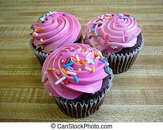 Cupcakes - Pink cupcakes