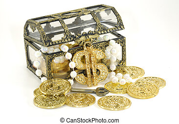 Treasure Chest - Photo of a Treasure Chest - Financial...