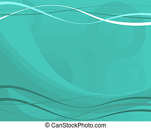Blue Vector Graphic