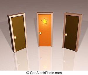 Stars Door
