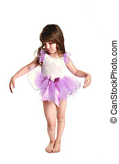 beautiful ballerina - Little ballerina showing some of her...