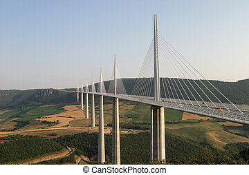 Millau Bridge - The Millau Bridge - the worlds tallest...