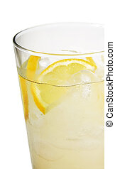glass lemonade - large glass of lemonade