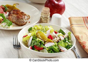 Vegetable salad - Mixed vegetable salad