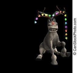 Christmas Donkey 2