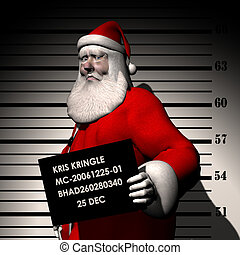 Breaking & Entering - Santa Arrested for Breaking and...