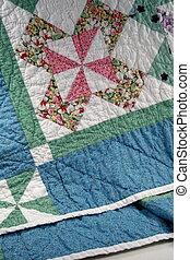 Pinwheel Quilt 01 - pinwheel quilt border detail
