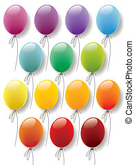 Balloons collection - Balloons colorful collection ready for...