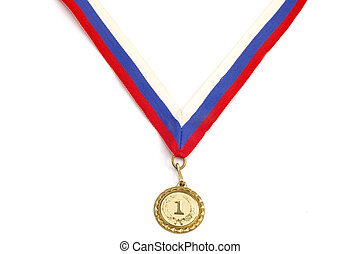 medal - series object on white - medal