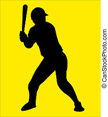 sport Player 01 - images of Illustration of Baseball Player...