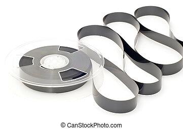 fragment video cassette - series object on white - Open...