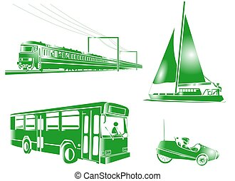 TRANSPORTATION ICON - Some icons useful for transportation...