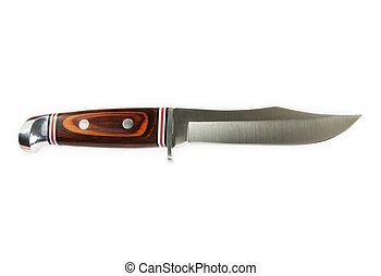 caza, cuchillo
