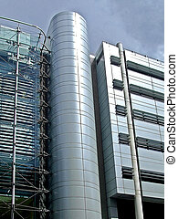 Industrial building - Aluminum industrial building with...